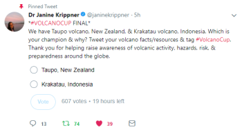 Here is where you make your vote in the VolcanoCup Final